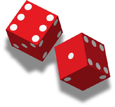 Unethical behavior is a risky roll of the dice